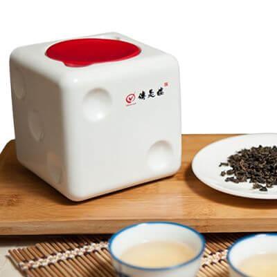 傳是樓-神祕湖有機茶-瓷瓶精裝-150g