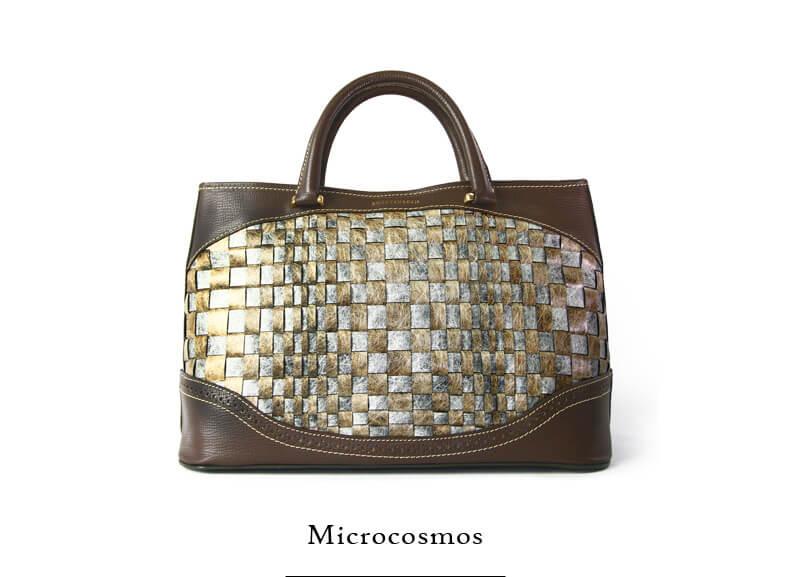 蠶絲手提包-微觀宇宙-sw026-Microcosmos-01 Front