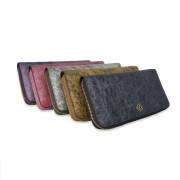 蠶絲拉鍊長匣有多種顏色可選擇-幻紫、洋紅、銀灰、燦金、墨灰,等五色