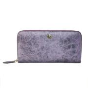 蠶絲皮-幻紫色