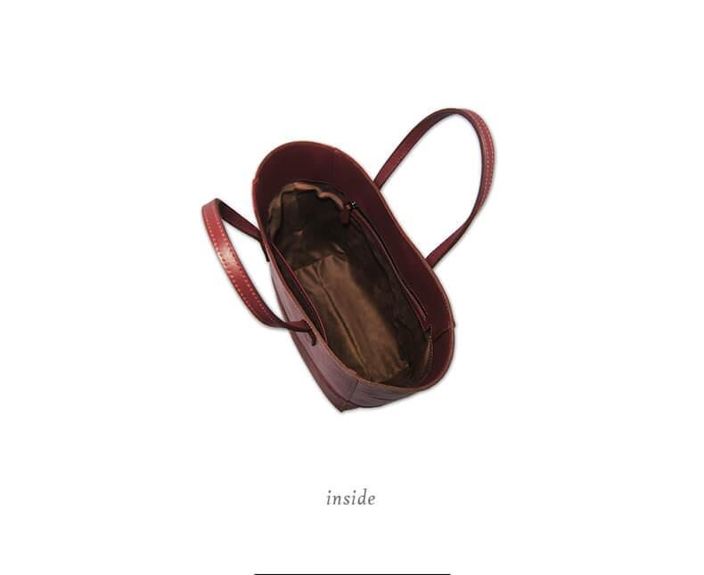 Tote-Medium-歐瑪聖絲-蠶絲小托特包-inside